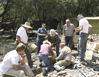 Gold Digging Adventure At The Roaring Camp Gold Mine In
